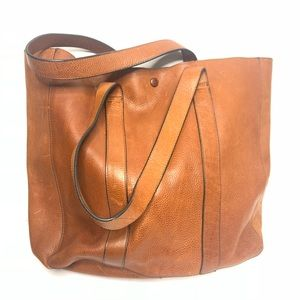 Gap Leather oversized tote